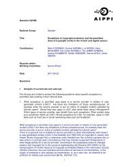 Question Q216B National Group: Sweden Title: Exceptions to ... - SFIR