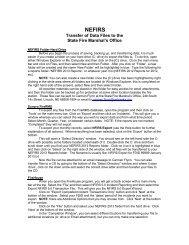 Data Export Instructions - Nebraska State Fire Marshal