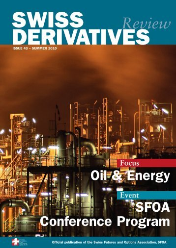 Download PDF, Issue 43 - Swiss Futures and Options Association