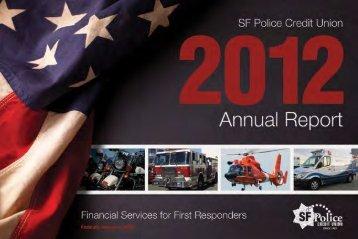 2012 Annual Report - SF Police Credit Union
