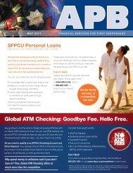 Global ATM Checking: Goodbye Fee. Hello Free. - SF Police Credit ...