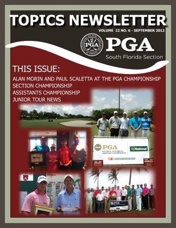 September - South Florida PGA Golf