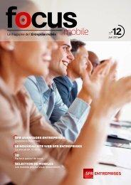 Focus mobile n°12 - SFR Entreprises