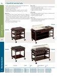 8.1 Carrelli per sala Carrelli per sala in legno 360 Carrelli di servizio ... - Page 5