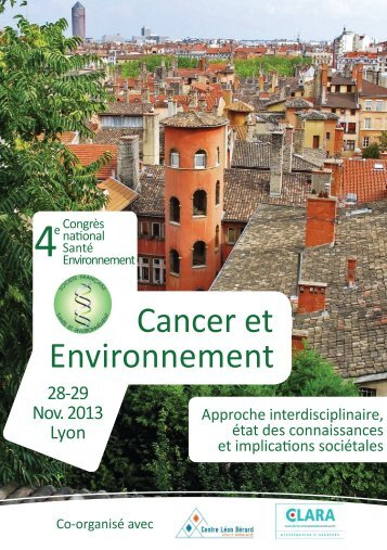 Cancer et Environnement - SFSE