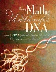 32. Using Math to Untangle DNA - San Francisco State University