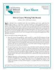 27 How to Create a Winning Video Resume - San Francisco State ...
