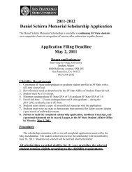 2011-2012 Daniel Schirra Memorial Scholarship Application ...