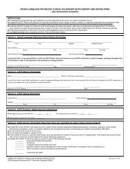 Clinical Fellowship Report and Rating Form