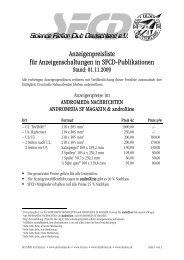 Download Anzeigenpreisliste SFCD