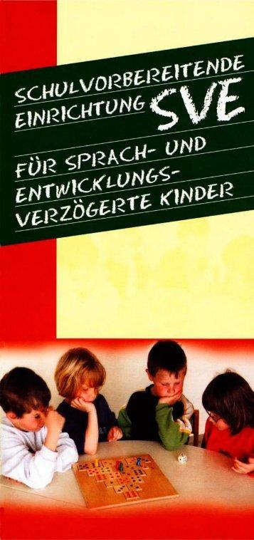 Schulvorbereitende Einrichtung (SVE)