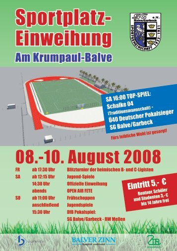 Sportplatz- - SG Balve/Garbeck