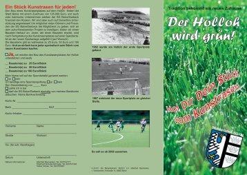 Der Holloh wird grün! - SG Balve/Garbeck