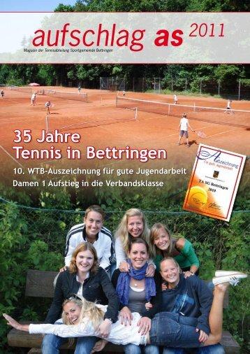 aufschlag as2011 - SG Bettringen