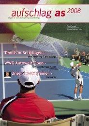 aufschlag as 2008 als pdf - SG Bettringen
