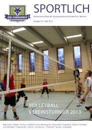 Vereinszeitung Nr. 24 - SG-Findorff eV