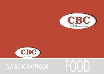 SALAD PASTA AMERICAN BURGER CURRYWURST CBC