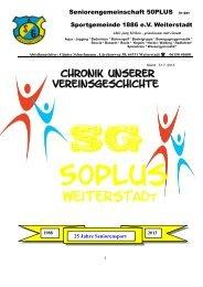 ch will mir die Chronik ansehen - SG Weiterstadt