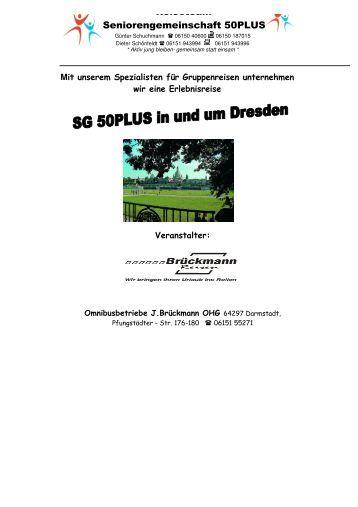 Mehrtagesfahrt nach Dresden - SG Weiterstadt