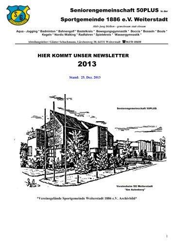 Kalenderjahr 2013 - SG Weiterstadt