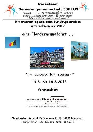 Mehrtagesfahrt nach Belgien - SG Weiterstadt