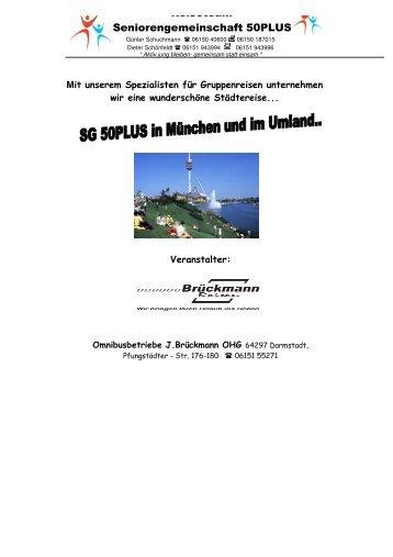 Mehrtagesfahrt nach München - SG Weiterstadt