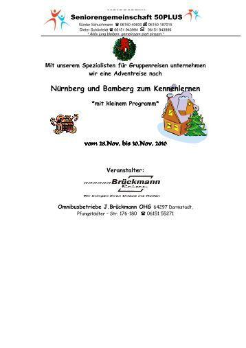Advent in Franken - SG Weiterstadt