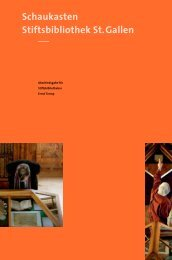 Festschrift für Ernst Tremp, 2013, S. 40-45 - Kanton St. Gallen
