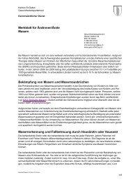 Merkblatt Masern für Ärzte (145 kB, PDF) - Kanton St. Gallen