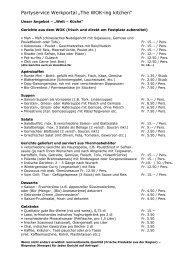 Angebot Partyservice (94 kB, PDF)
