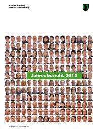 Jahresbericht 2012 (2115 kB, PDF) - Kanton St. Gallen