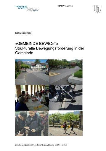 «GEMEINDE BEWEGT» Strukturelle Bewegungsförderung in der ...