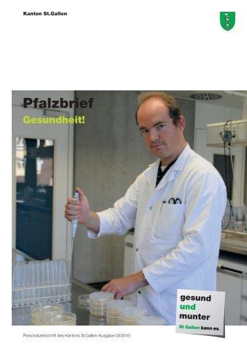 Pfalzbrief Nr. 03/2013 (2913 kB, PDF) - Kanton St.Gallen