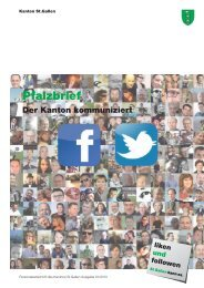 Pfalzbrief Nr. 01/2013 (2132 kB, PDF) - Kanton St.Gallen