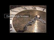 Thermodynamische tijd. De toename van entropie en de ...