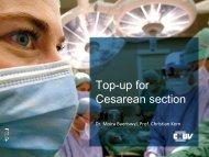 Top-up for cesarean section / M. Baeriswyl & C. Kern, Lausanne