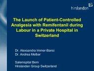 Data presentation Dr Andrea Melber
