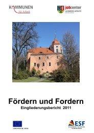 Eingliederungsbericht Landkreis Görlitz - jobcenter   SGB II Reform