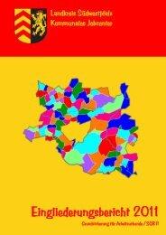 Eingliederungsbericht 2011 - jobcenter | SGB II Reform