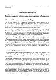 Eingliederungsbericht Landkreis Osterholz