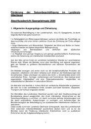 Eingliederungsbericht Landkreis Oberhavel (2006), Anlage 1