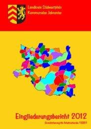 Eingliederungsbericht 2012 - jobcenter | SGB II Reform