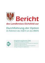 Eingliederungsbericht Landkreis Eichsfeld (2006)