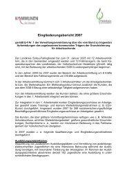 Eingliederungsbericht Landkreis Soltau-Fallingbostel (2007)