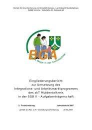 Eingliederungsbericht Landkreis Muldentalkreis (2007)