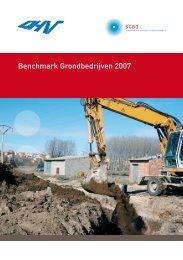 Benchmark Grondbedrijven 2007 - Sgbo