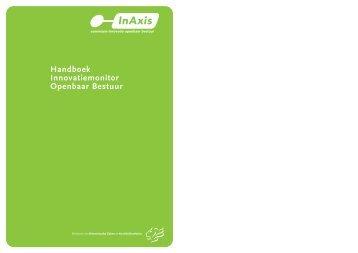 Handleiding Innovatiemonitor Openbaar Bestuur - Kennisbank ...