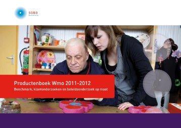 Productenboek Wmo 2011-2012 - Sgbo