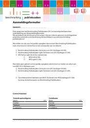 Aanmeldingsformulier - Sgbo