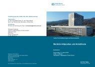 Morbide Adipositas und Anästhesie - SGC